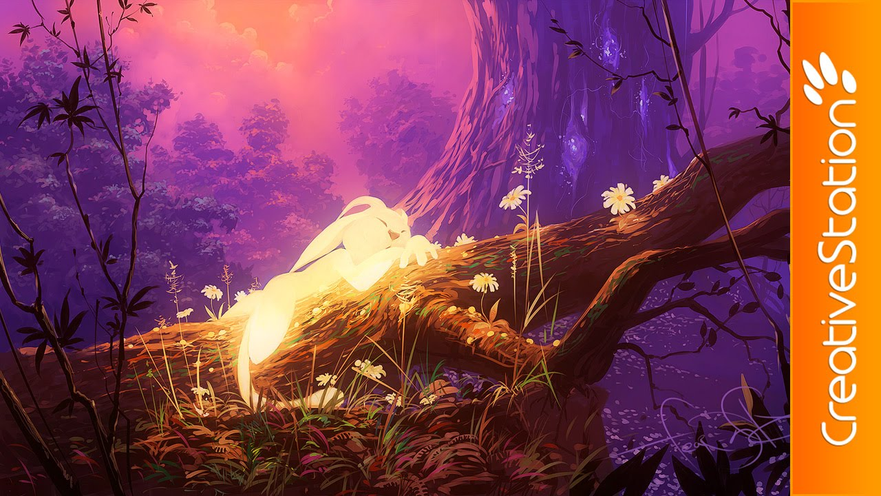 Ori And The Blind Forest Speed Painting Painttoolsai