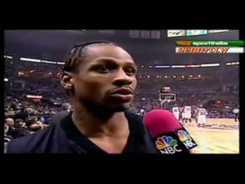 Allen Iverson 25pts Highlight NBA All Star 2001 MVP *Best All Star Game ever