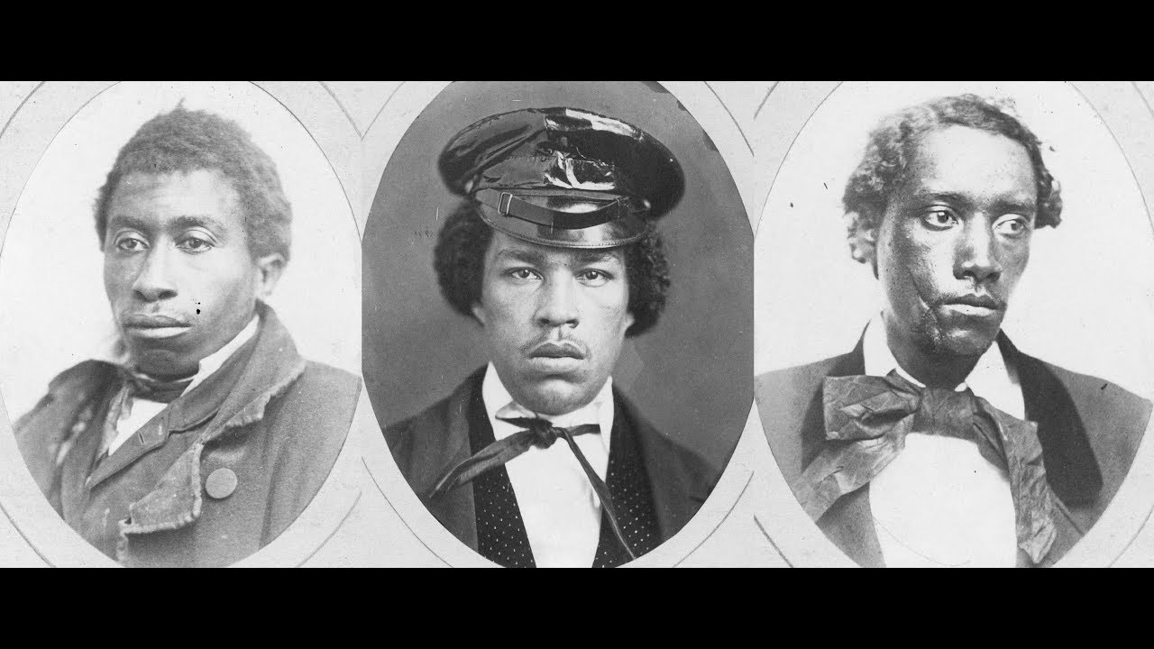 Vintage Mugshots of African American Criminals From the 1850s