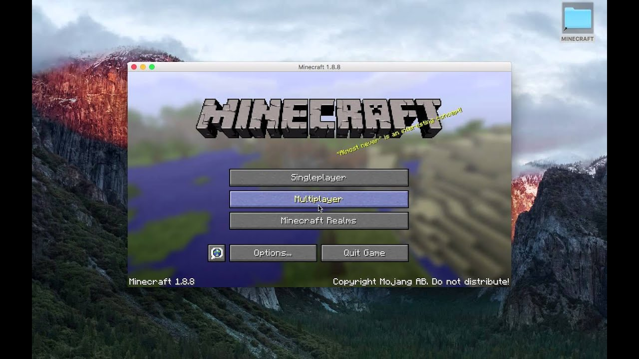 MINECRAFT CRACKED LAUNCHER MAC WINDOWS LINUX YouTube - Minecraft spielen auf mac