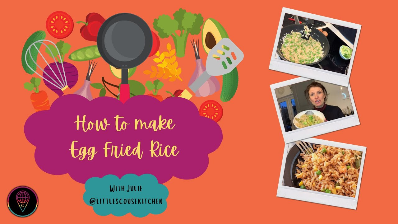Sundays with Little Scouse Kitchen: How to Make Egg Fried Rice