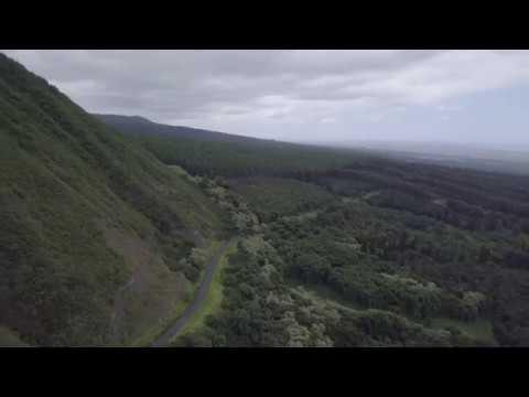 Mauka & Back Roads of Naalehu with Mavic Pro