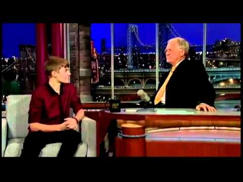 Justin Bieber interview 2011 The late show