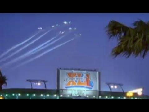 Super Bowl XLI National Anthem and Flyover