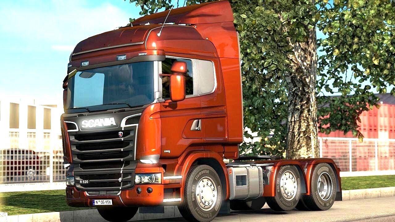 euro truck simulator 2 scandinavia dlc picking up a. Black Bedroom Furniture Sets. Home Design Ideas