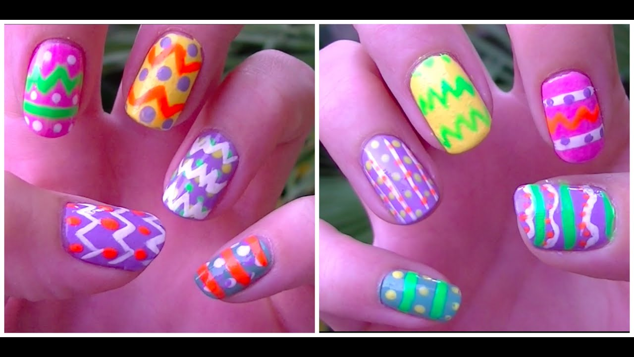 Easter Egg Nails! - YouTube