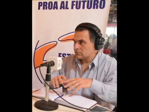 ENCALLO BARCO EN MARDEL Y LEY MARINA MERCANTE en PROA AL FUTURO Radio AM 820 con Marcelo Muchi.