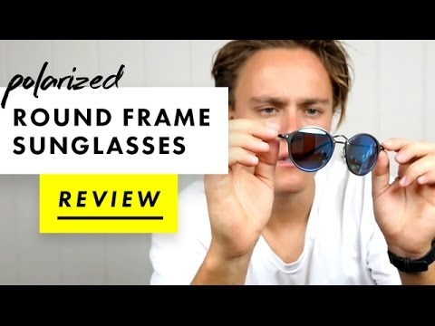 Polarized Round Frame Sunglasses Review | AliExpress