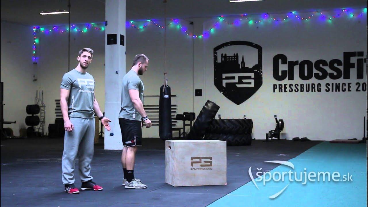 e4f300241 Box Jump - Základy pre CrossFit #5 - YouTube