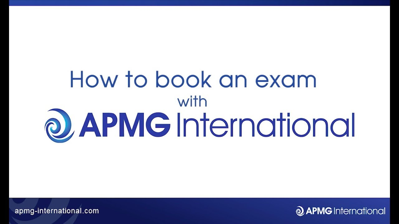 How to book an APMG public exam | APMG International