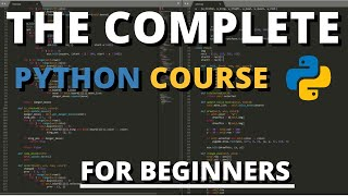 The Complete Python Coขrse For Beginners