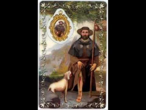 San Roque, San Roque , que este perro me toque el corazón