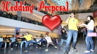 Amazing Flash Mob Wedding Proposal Elante Mall, Chandigarh, India