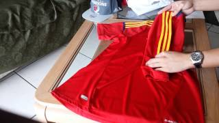 2011 Spain National Team Jersey Review