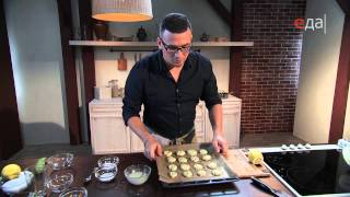 Печенье из цукини с компотом из кабачков
