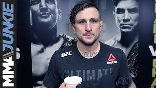 UFC Brooklyn: Gregor Gillespie full post-fight interview