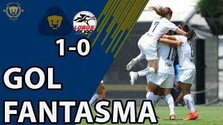 Pumas F 1-0 Lobos F | GOL FANTASMA