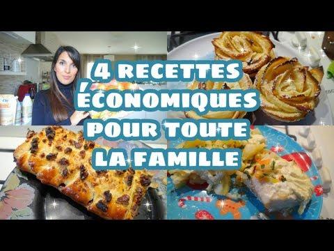4-recettes-economiques-pour-toute-la-famille-!!!-simple-et-delicieux-...