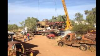 Download World War II Studebaker, from Mt Isa, first start in 40 years. Mp3 and Videos