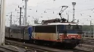 France: Strasbourg area SNCF Class BB 25500 electric locomotives working TER passenger trains