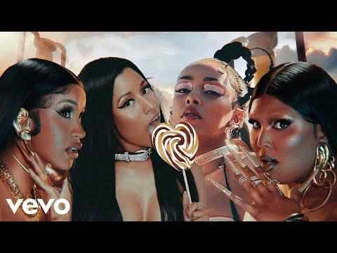 Lizzo – Rumors (feat. Nicki Minaj, Cardi B & Doja Cat) [MASHUP]