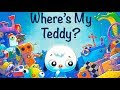 Where's My Teddy? - Audio Read Aloud Bedtime Stories for Kids