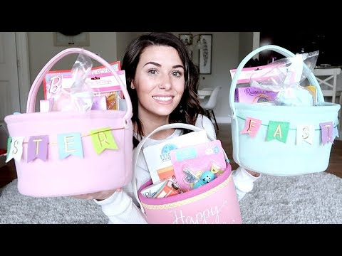 WHAT'S IN MY KID'S EASTER BASKETS?!
