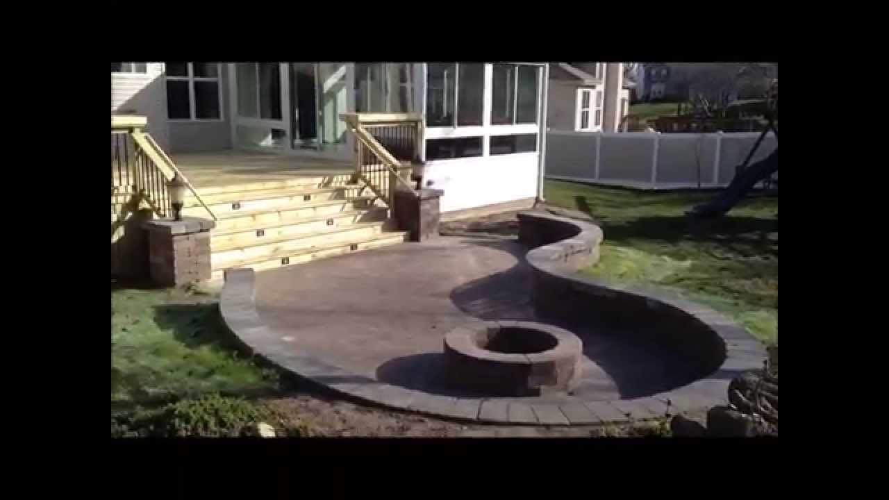 Deck With Patio And Fire Pit In Hoffman Estates, IL