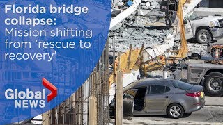 Florida bridge collapse: Mission shifting from rescue to recovery