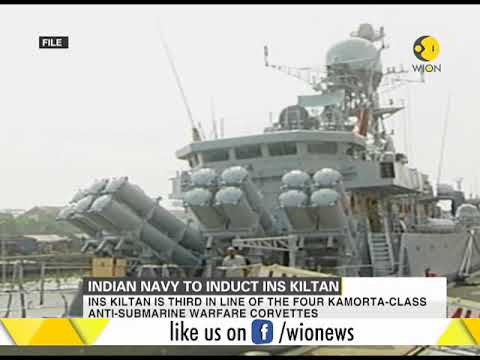 Indian Navy to induct INS Kiltan