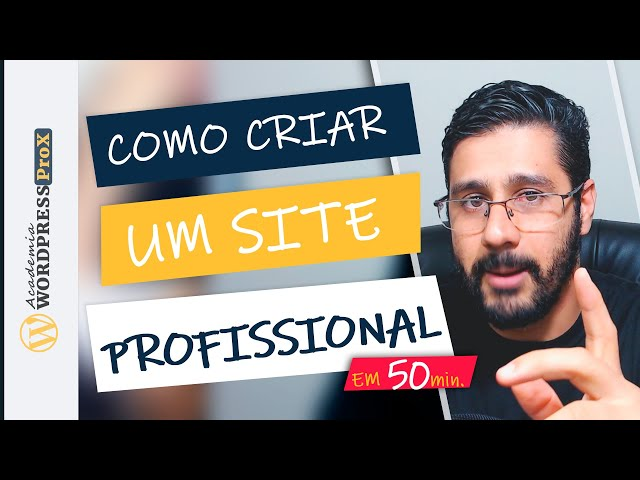 Como Fazer Um Site Profissional Com Wordpress + Elementor + Hostgator Passo a Passo Para INICIANTES
