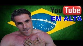 Baixar O MEU VIDEO CHEGOU AO EM ALTA NO BRASIL!!!! [OBRIGADO A TODOS]