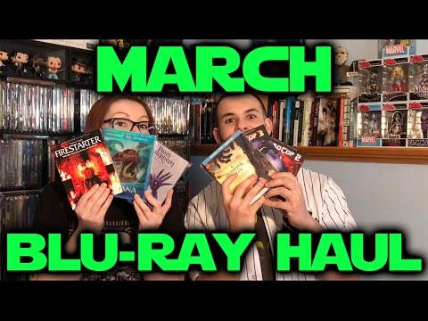 March 2017 Blu-ray Haul & GIVEAWAY! streaming vf
