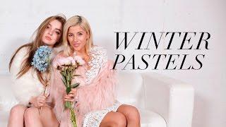 Winter Pastels Fashion Lookbook ft. Alexa Losey