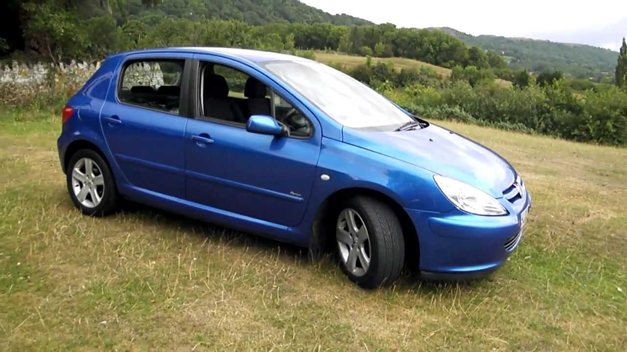 2003 peugeot 307 2 0 hdi rapier youtube. Black Bedroom Furniture Sets. Home Design Ideas