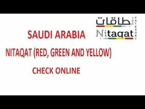 Check Your Sponsor Nitaqat Color | اپنے کفیل کے مؤسسةکارنگ چیک کریں