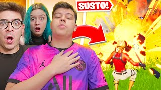 ASSUSTEI TODOS DA HERO BASE NO FORTNITE!