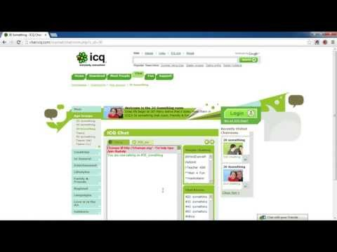 How To Join ICQ Chat Room Without Installing ICQ Client