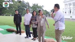 Pak Jokowi di-Hook'a Hook'e Soimah #DangdutanBarengPresiden