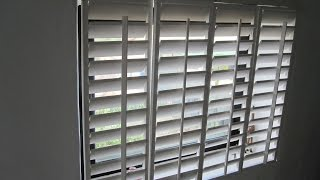 Plantation Shutters Homemade Plantation Shutters