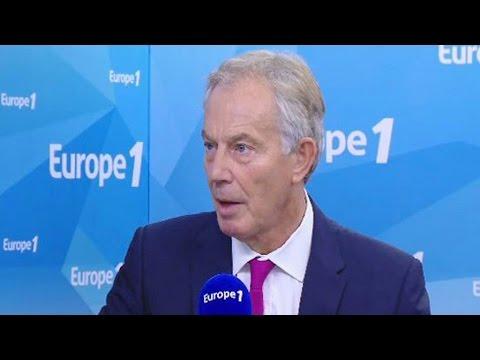 Brexit : Tony Blair répond aux questions de Jean-Pierre Elkabbach