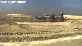 Archive new Suez Canal: dredging in the communication channel 89 on Jan. 27