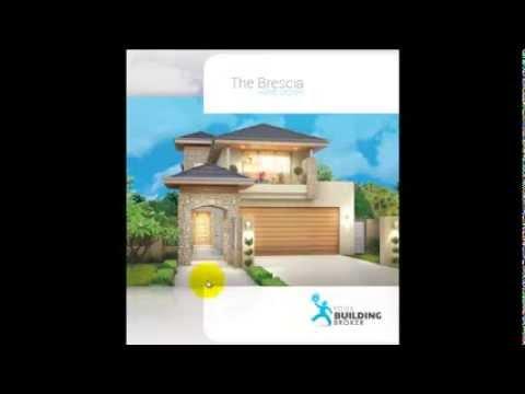 The Brescia 2 Storey Narrow Lot Home Design - Your Building Broker Perth