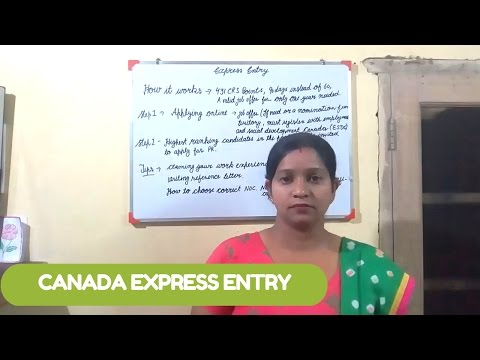 Canada Express Entry 2017 : Immigrate as a skilled worker through Express Entry