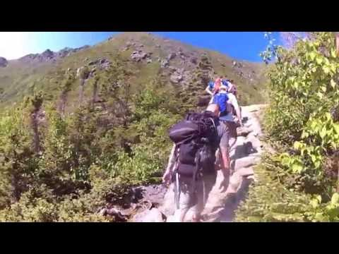 Hiking Tuckermans' Ravine Mt Washington