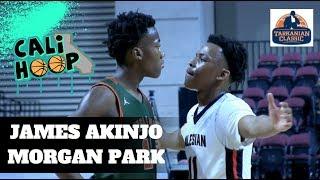 UCONN's James Akinjo DISMANTLES Morgan Park... 20 Pts 4 Reb 6 Ast...DOG!!!
