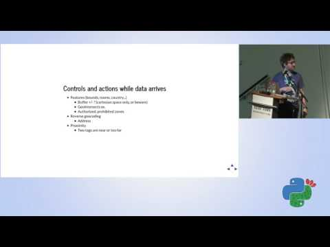 Handling geo located data in real time using Python - Jonathan Schemoul