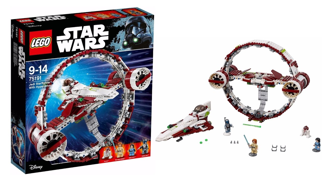 Overpriced? NEW 2017 LEGO Star Wars Jedi Star Fighter With ...