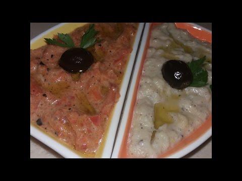 baba-ghanouge/-mtabbal/-purée-d-aubergine-grillée.-spécialité-du-moyen-orient