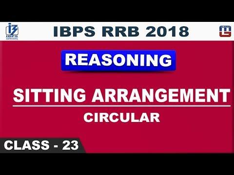Sitting Arrangement | Circular | IBPS RRB 2018 | Class 23 | Reasoning | Live at 2 pm